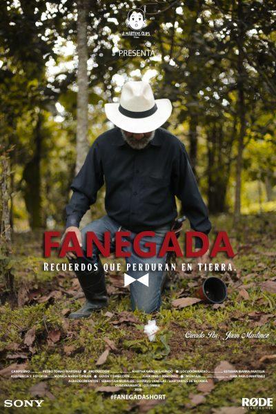 Afiche cortometraje Fanegada